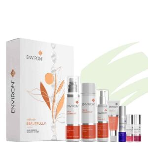 groups shot of Environ Products in the Christmas gift set