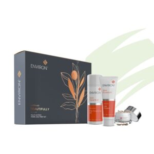 product shop of clay masque and pre-cleansoil with hydrating capsules
