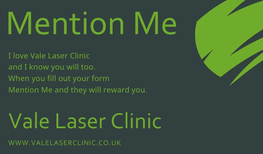 Mention Me Referal scheme business card
