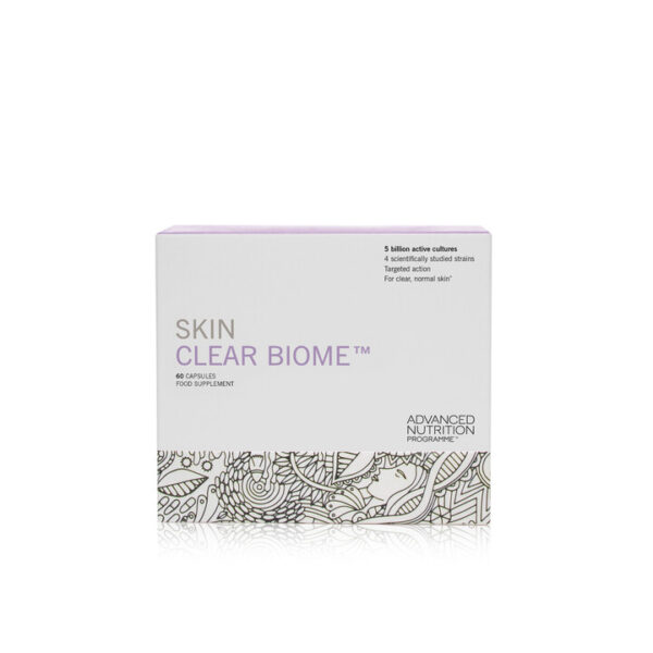 picture of skin clear biome packaging