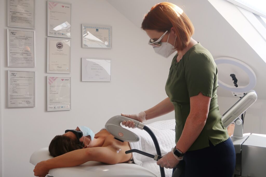 laser hair removal at vale laser clinic